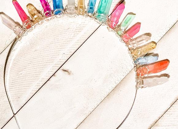 Unicorn Crystal Crown