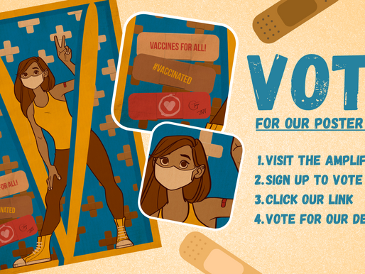 Vote for Vaccine Maxine!