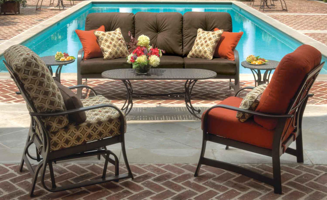 Crimson Casual - Coastal Grove Deep Seating