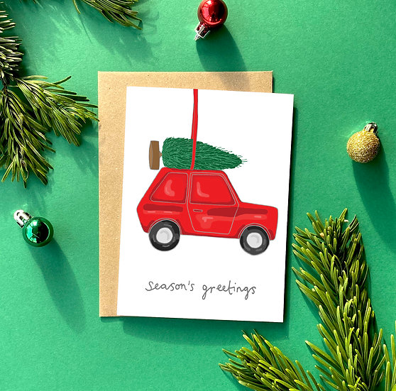 Christmas Cards Fun (Blank for your own message)