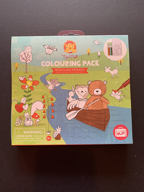 Woodland Friends Colouring Set