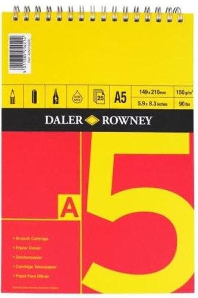 Daler Rowney A5 Sketchpad