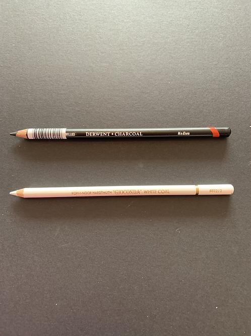 Single Charloal Pencils