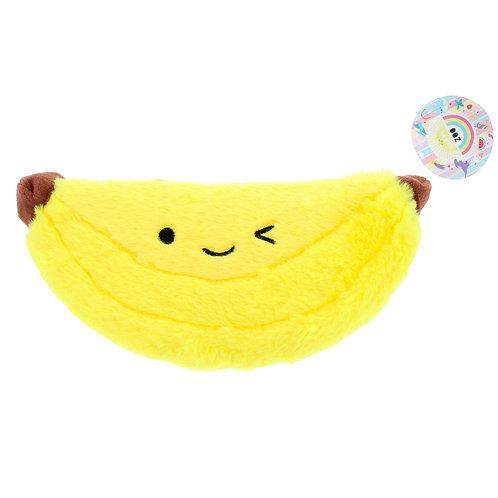 Fluffy Banana Pencil Case