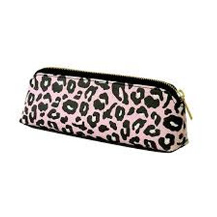 Alice Scott Pink Leopard Pencil Case