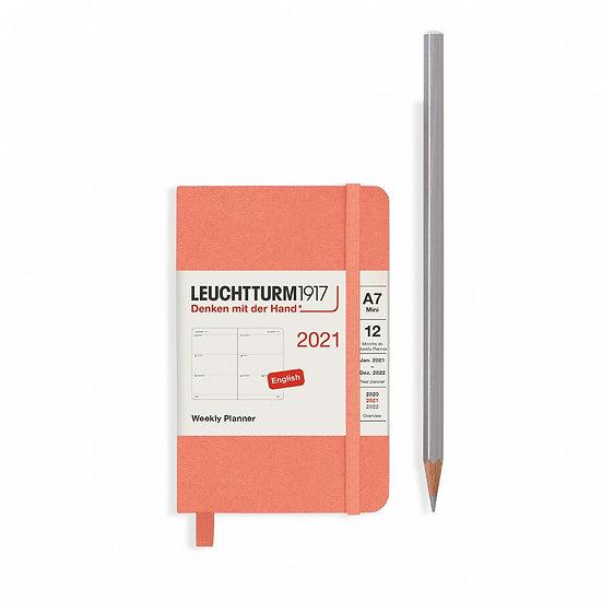 Leuchtturm A7 week to view diary