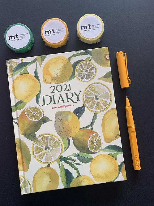 Emma Bridgwater Lemon Diary 2021