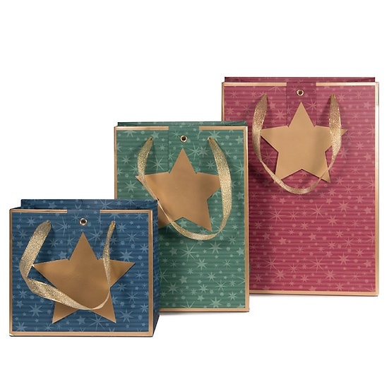 Christmas Bags - Sets of 3