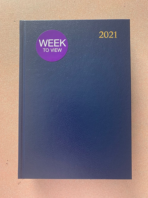 A4 Week to view diary