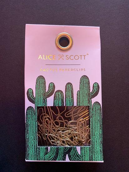 Alice Scott Cactus Paperclips