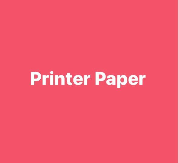80gsm Printer Paper
