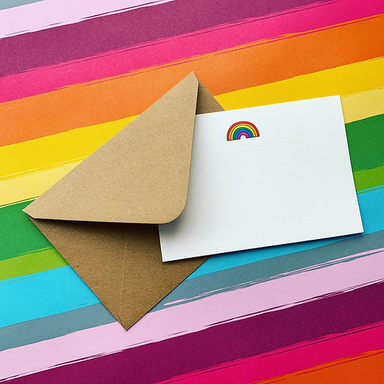 Pulp Rainbow Notecards (pack of 6)