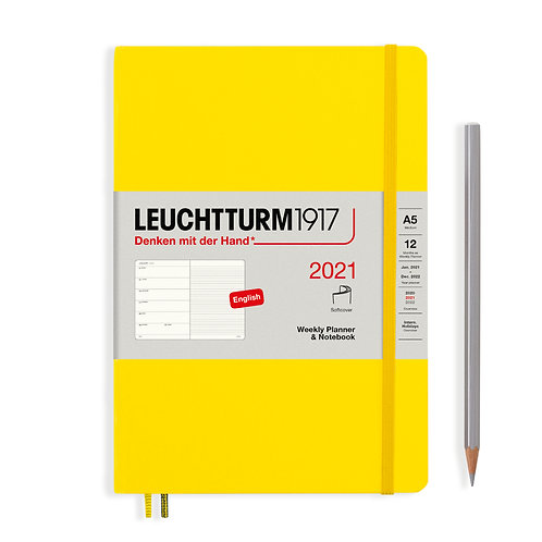 Leuchtturm A5 Week with Notes (SOFTCOVER)