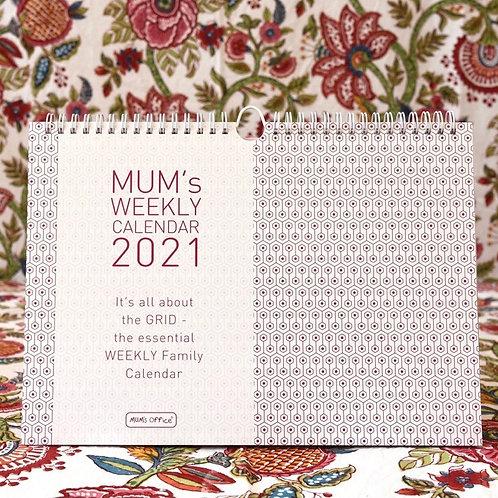 Mums Office 2021 Calendar