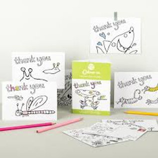 Eggnog Colour in Thank You Cards