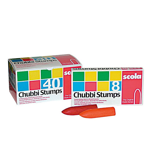 Chubbi Stumps Children's Crayons