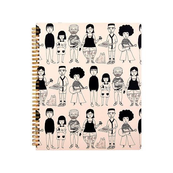 A4 Notebook (spiral bound)