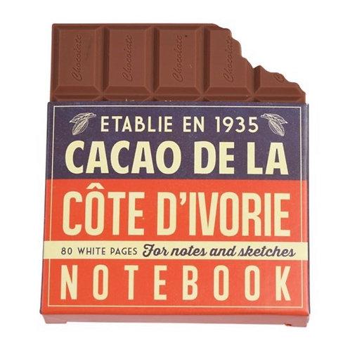 Chocolate Bar Notebook