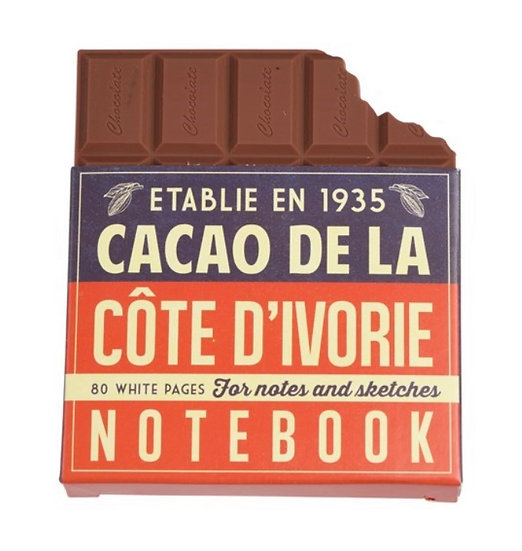 Chocolate Bar Notebook