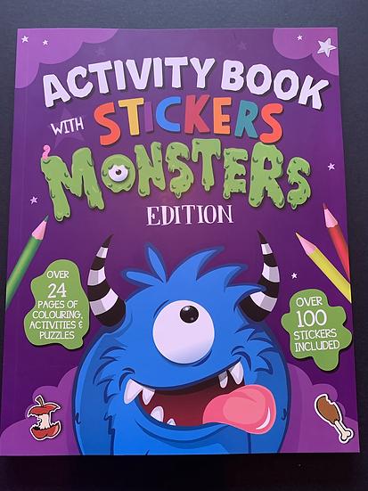 Activity Sticker Book