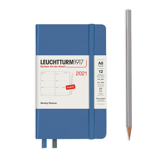Leuchtturm Diaries A6 Week to view (HARDCOVER)