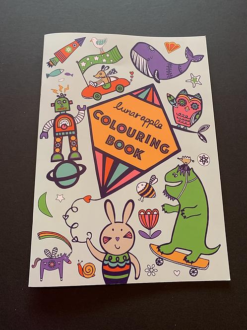 Luna Apple Colouring Book