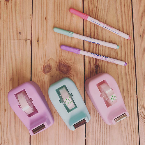 Cute pastel tape dispenser