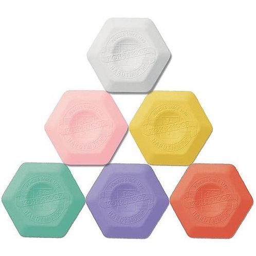 Koh I Noor Thermoplastic Ergonomic Hexagon Eraser