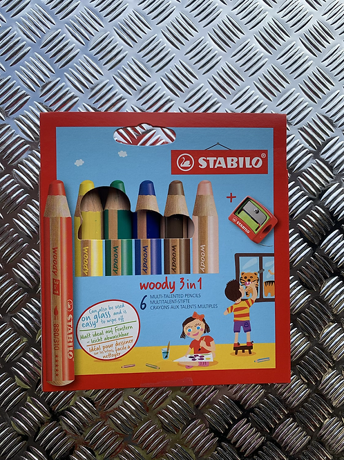 Stabilo Woody 3in1 Sets