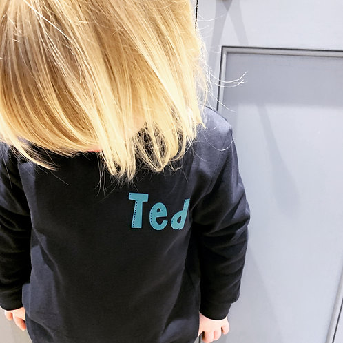 Personalised Toddler Sweat