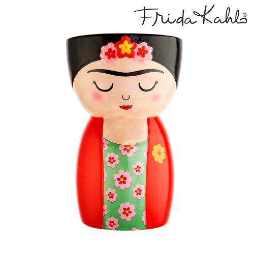 Frida Kahlo and Funky Fox Brush pot/Vase