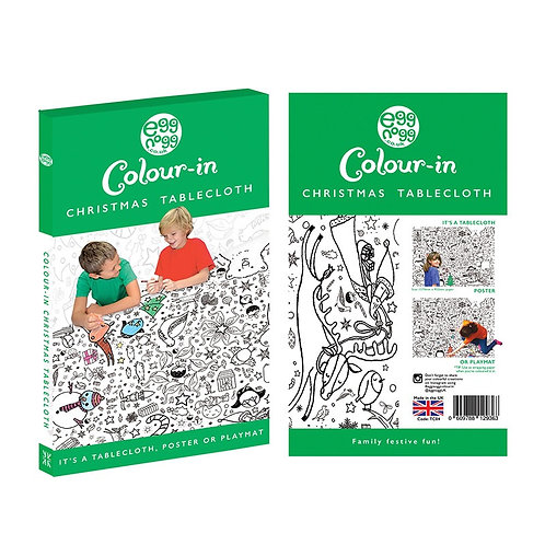 Colour in tablecloths!
