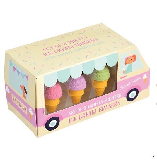 Ice Cream Erasers