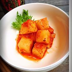 Kakuteki   (Radish Kimchi)