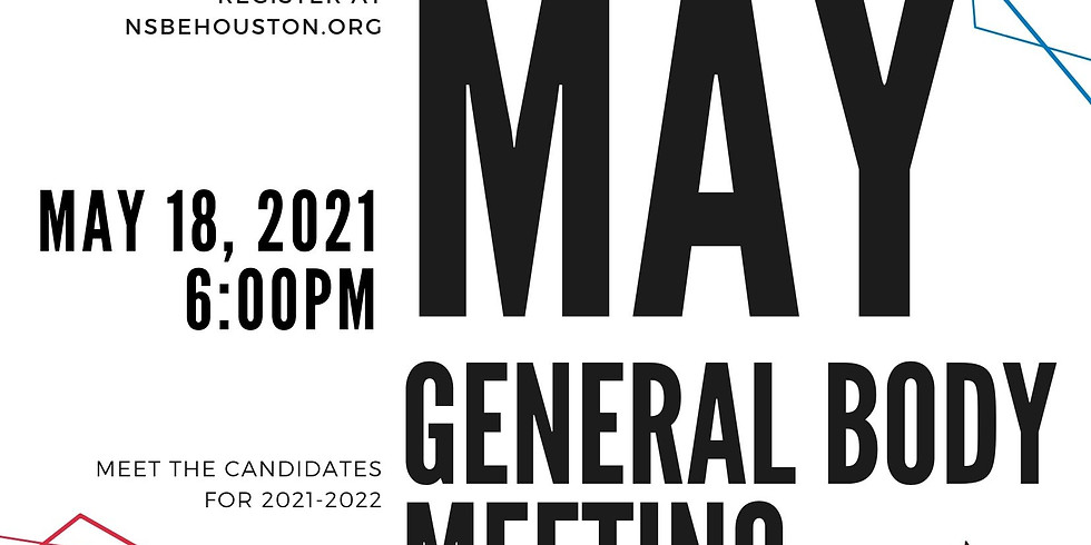 May General Body Meeting - Hosted By Chevron