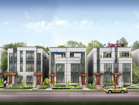 Frontdoor launches St. Clair Village, contemporary homes with abundant outdoor space on Caledonia Rd