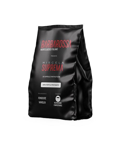 100 Capsule Fantastiche (Nespresso*) Miscela Suprema - 100% Forte & Profumato