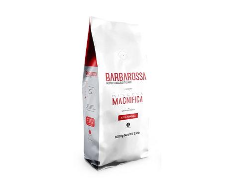 1Kg di Caffè in grani Barbarossa - Miscela Magnifica - 100% Arabica