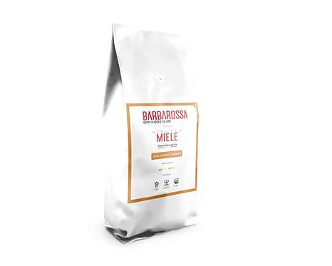 """1Kg di Caffè in grani Barbarossa """"Miele"""" 100% Intenso e Cremoso"""