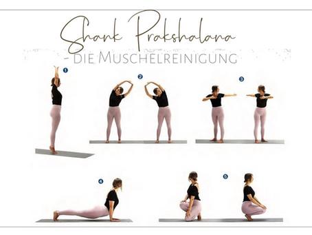 SHANKH PRAKSHALANA - Muschelreinigung            die yogische Darmreinigung