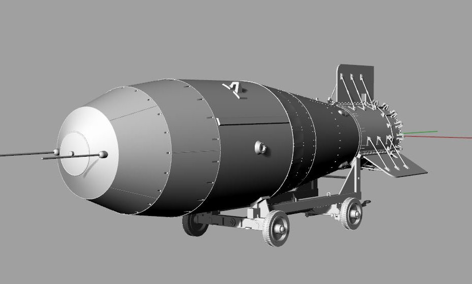 Термоядерная бомба АН-602 Кузькина мать (3D-модель для 3D-принтера в формате STL