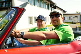 Oldtimer-Rallye fahren München