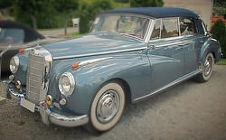Active Oldtimer 1955 Mercedes Adenauer 300c-cabrio mieten