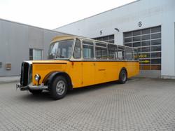 Saurer Oldtimer Bus mieten