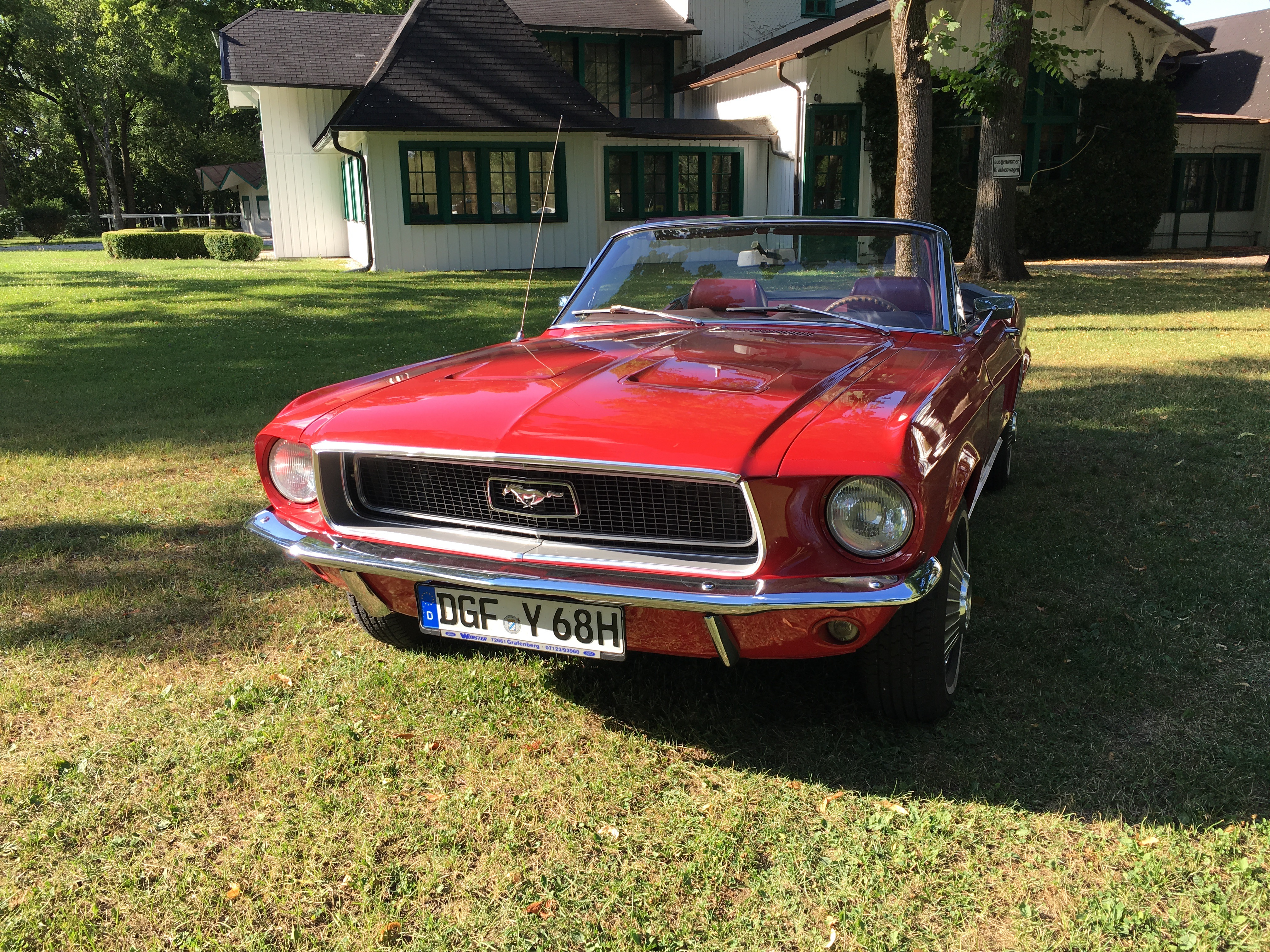 Active Oldtimer Ford Mustang mieten Au - 13