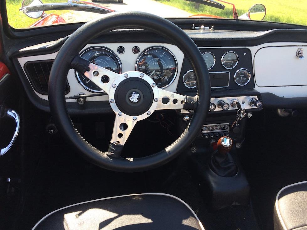 englischer Roadster Oldtimer mieten
