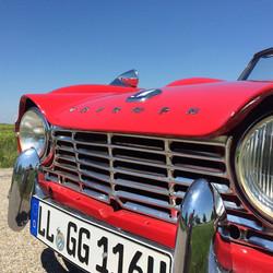 Triumph TR 4 Mieten und selbstfahren