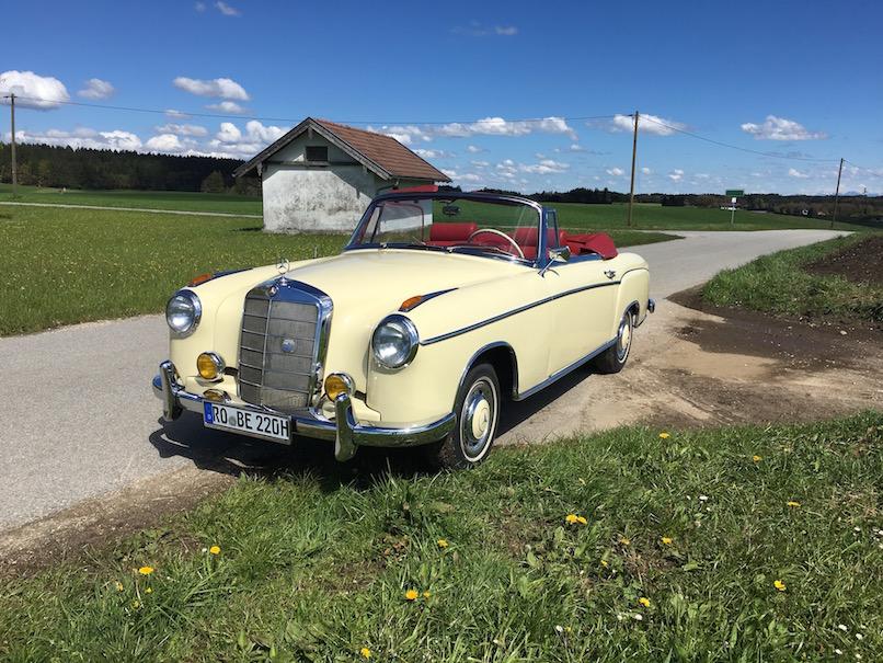 MB 220 Cabrio Active Oldtimer - 1 (1)