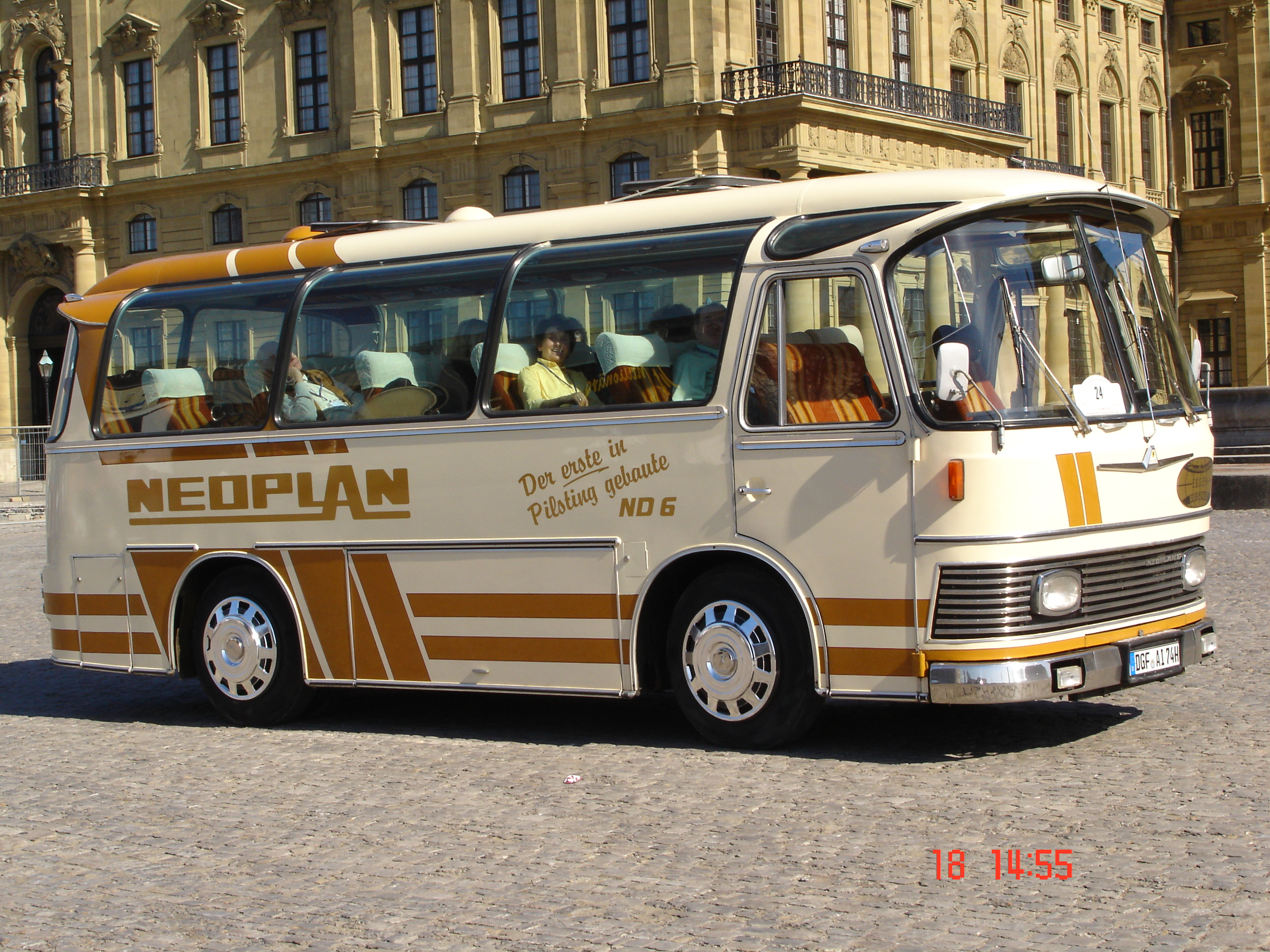 Neoplan Oldtimer Bus ND6