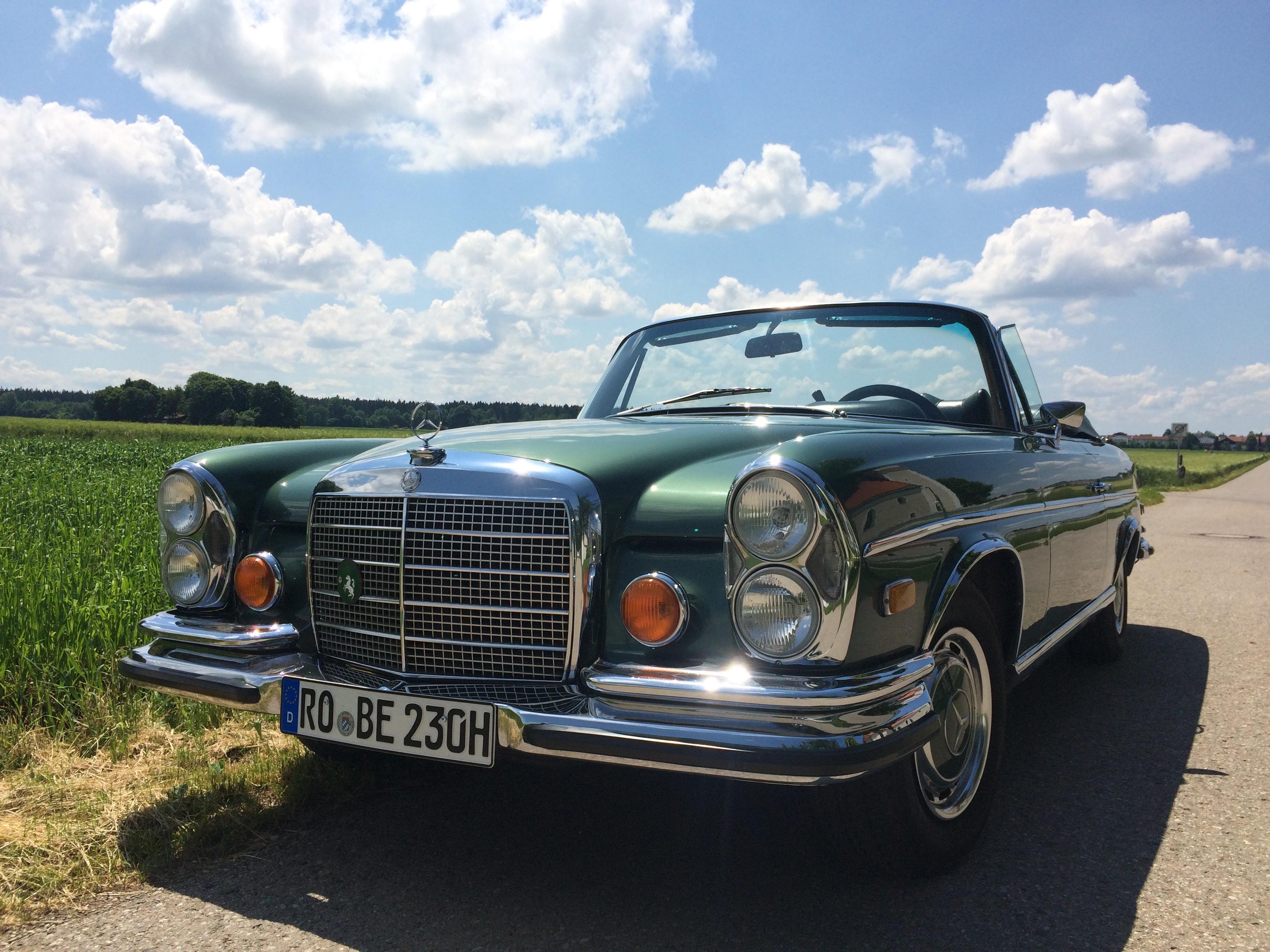 MB 280 SE Cabrio Hochzeitswagen AO